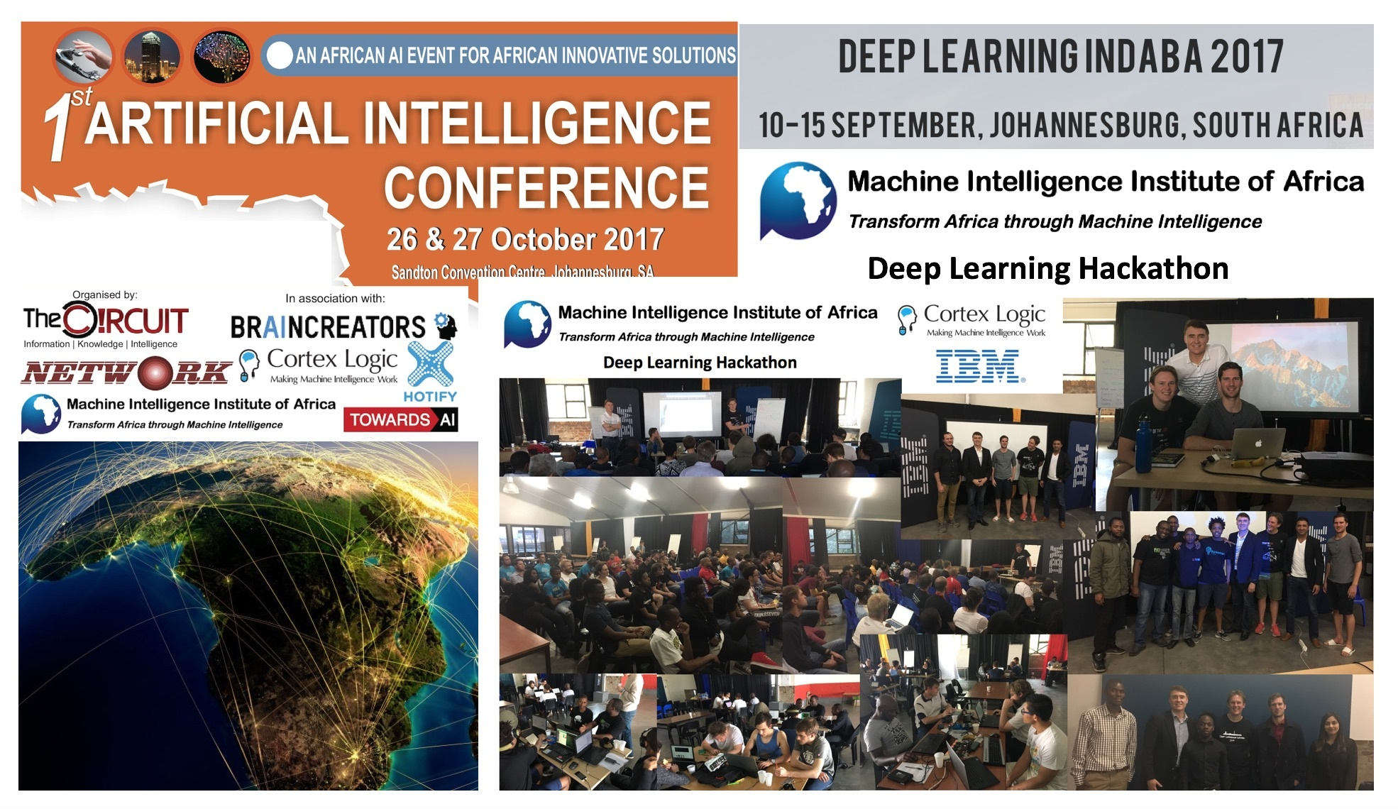 Presentations & Videos at October-November 2017 AI Events