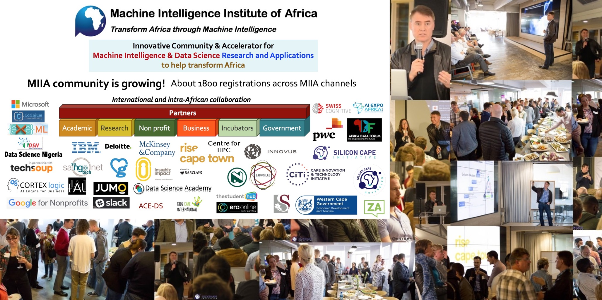Machine Intelligence Institute of Africa 2018
