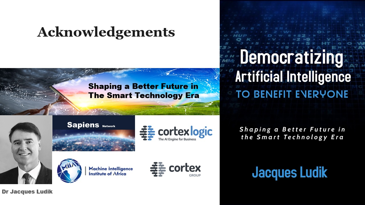 Acknowledgements – Democratizing AI to Benefit Everyone