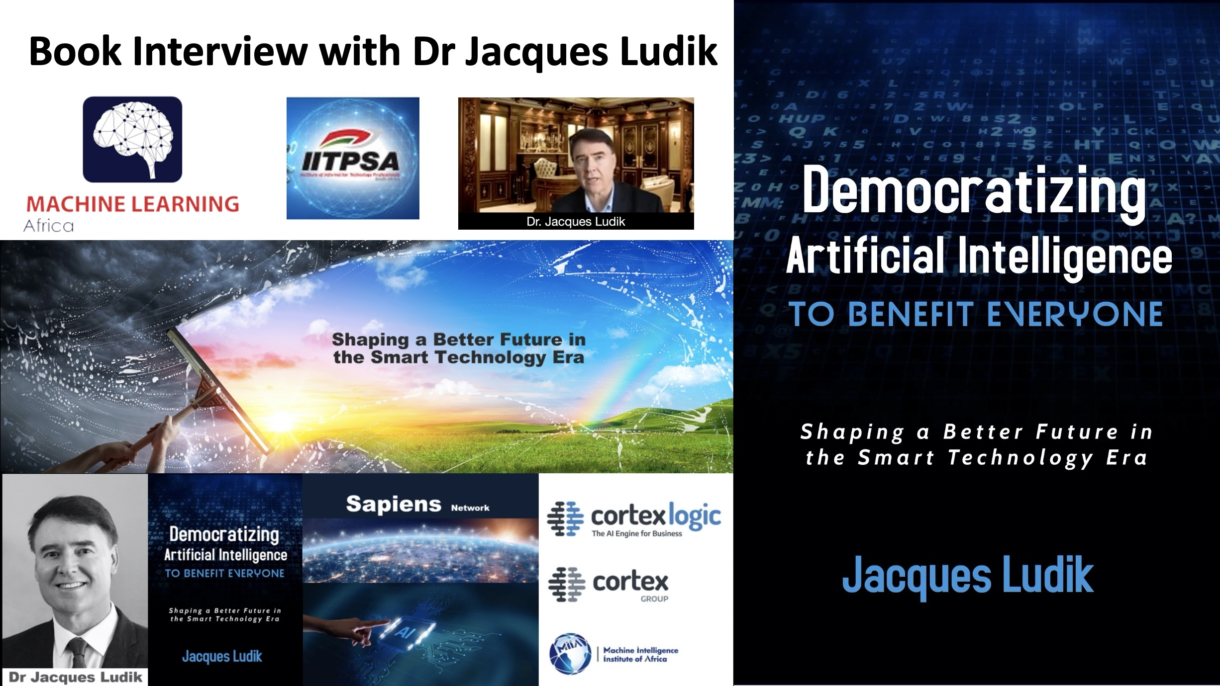 Democratizing AI to Benefit Everyone: Book Update, Reviews and Interview