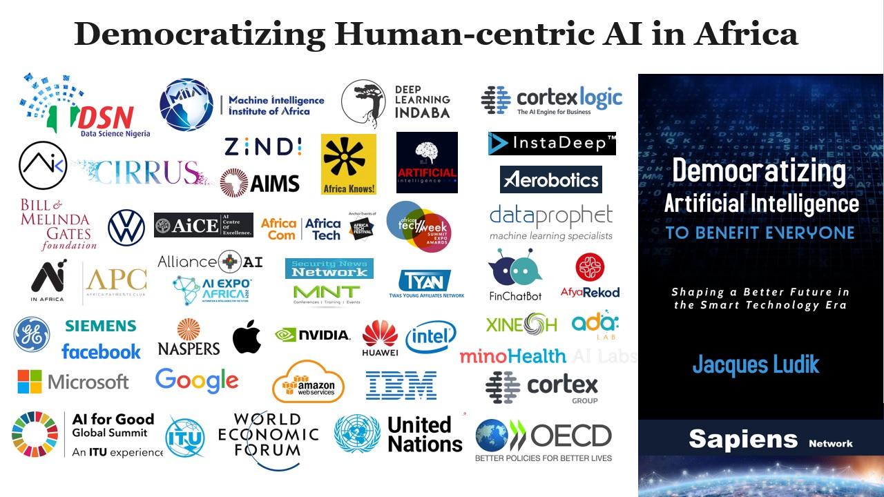 Democratizing Human-centric AI in Africa